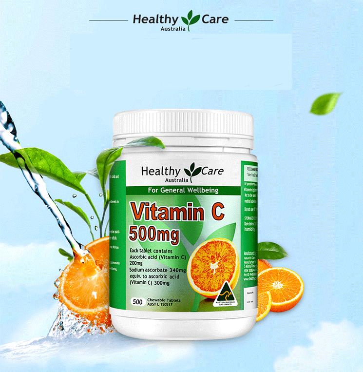 tăng cường bổ sung vitamin c