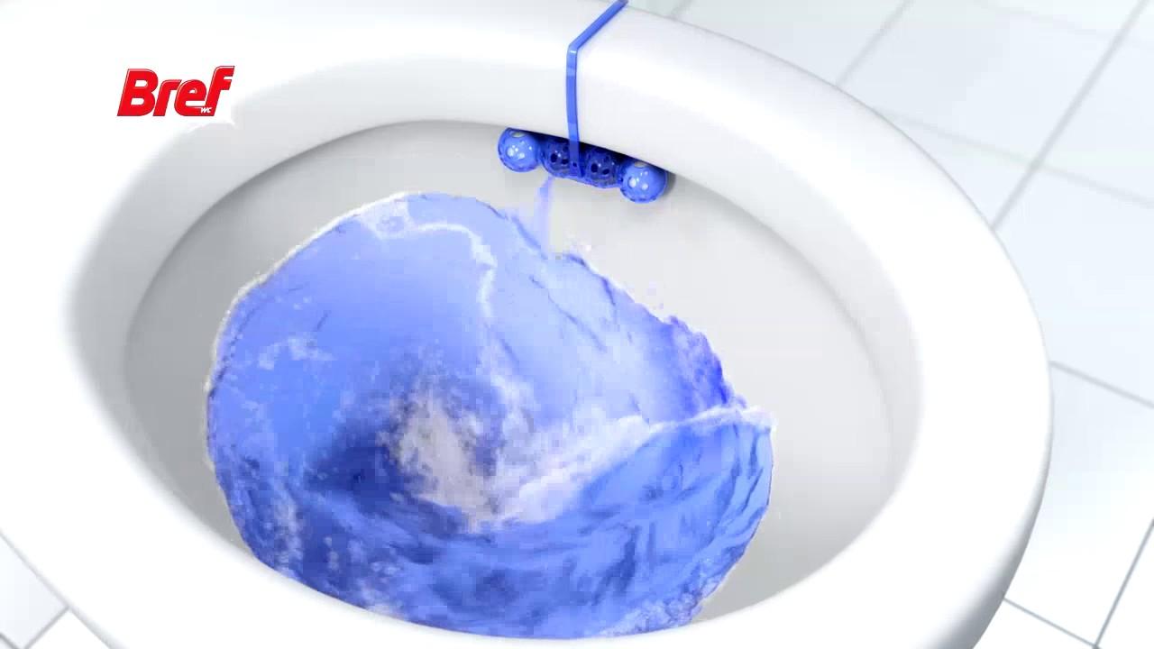 Bref Power Active Toilet Cleaner Fresh Flowers 50g