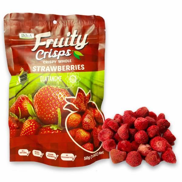 Freeze Dried Strawberries - Dâu tây sấy giòn DI&A của Úc