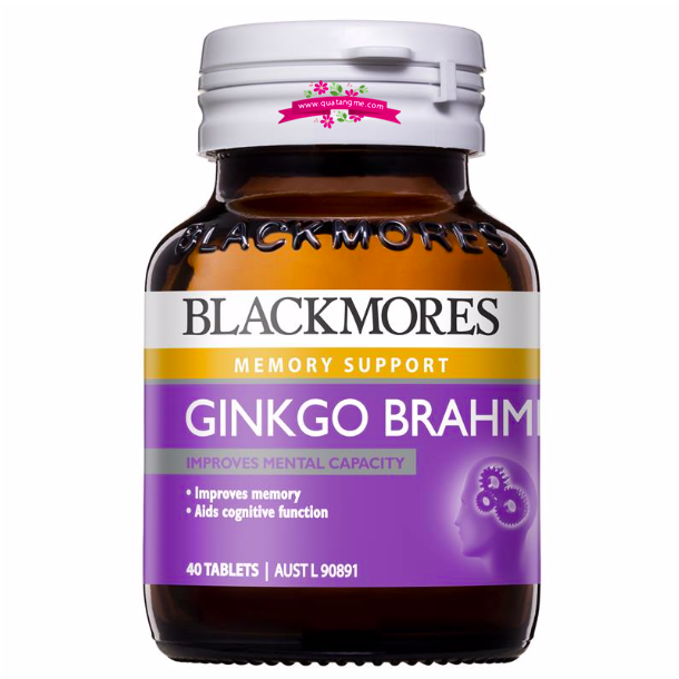 Blackmores Ginkgo Forte 2000mg 40 Tablets