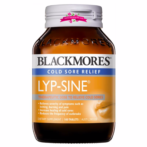 Blackmores Lypsine 100 Tablets