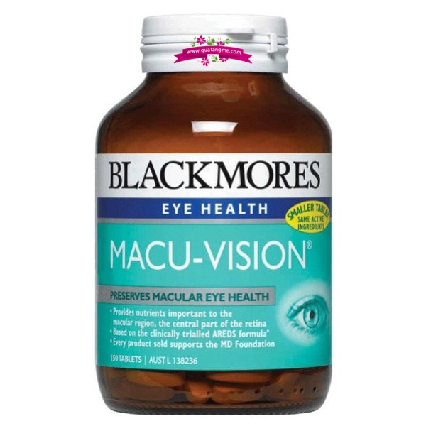 Blackmores Macu-Vision 125 Tablets