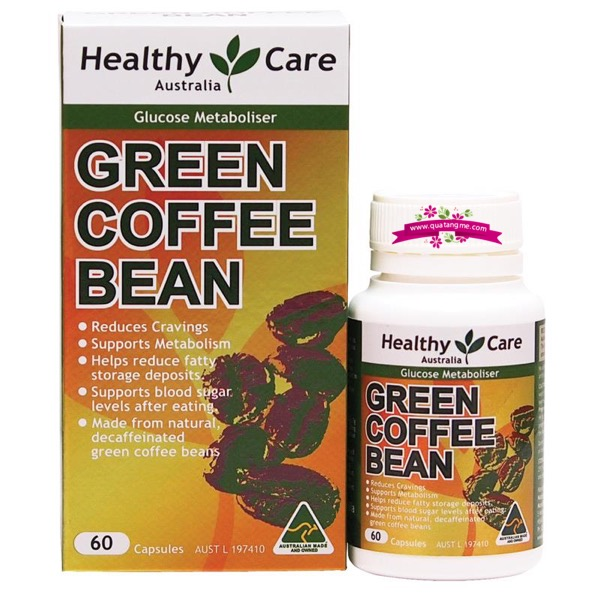 Healthy Care Green Coffee Bean 60 Capsules