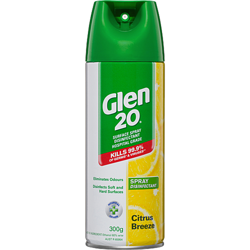 chai xịt kháng khuẩn Glen 20