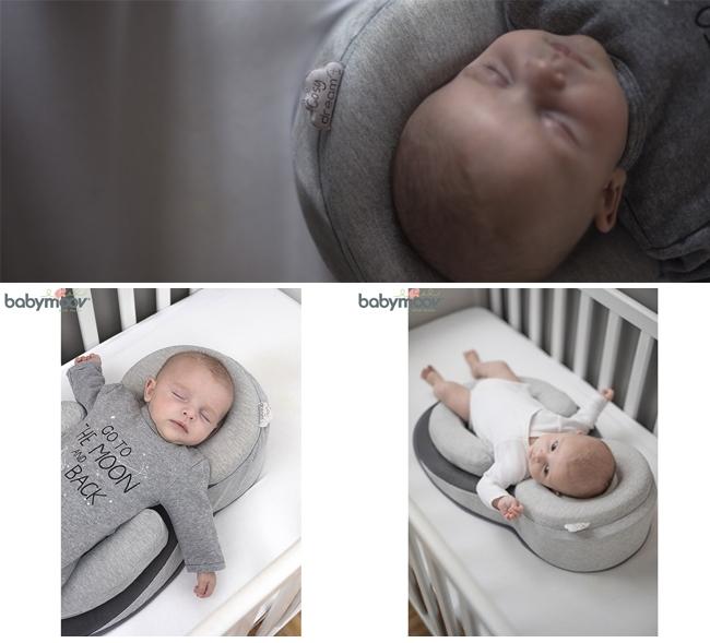 Đệm ngủ đúng tư thế chống trào ngược cho bé BABYMOOV