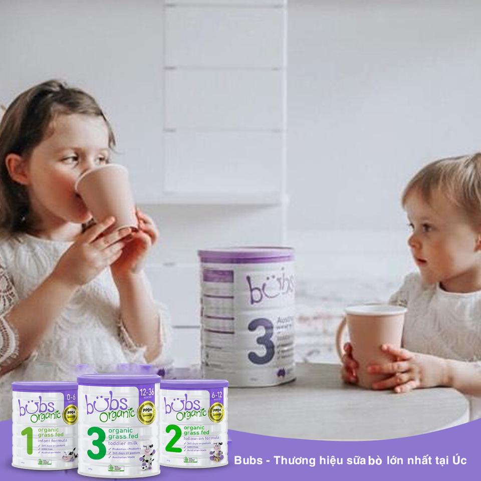 cách sử dụng sữa bubs