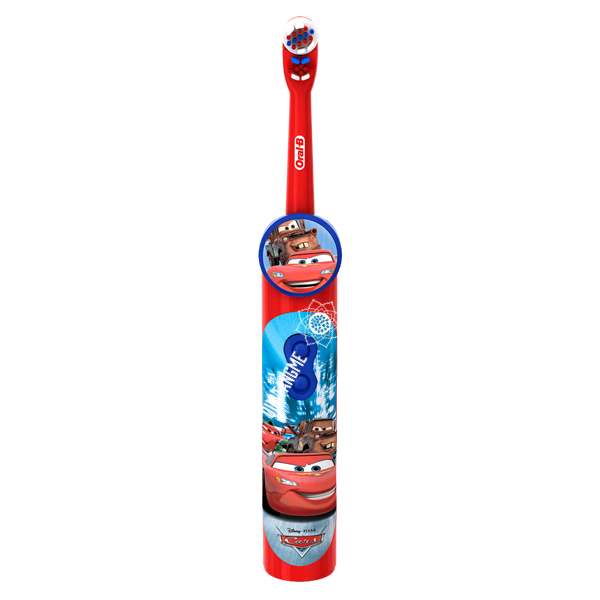 oral-b pro-health stages disney cars battery toothbrush