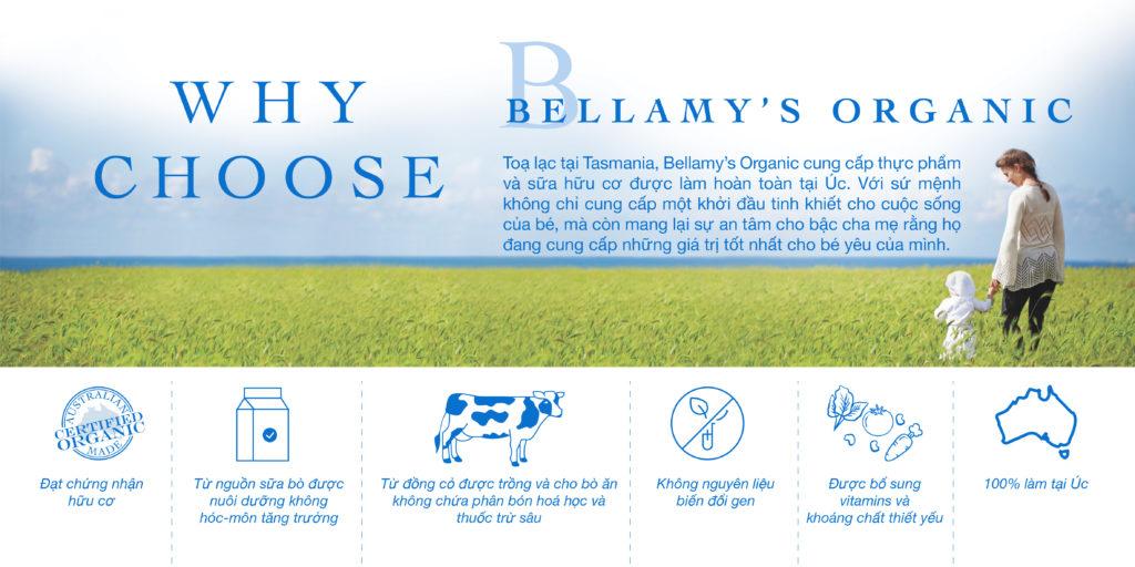 sữa bellamy's organic pregnancy dành cho bà bầu