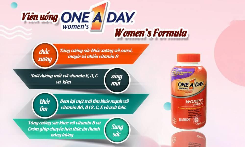 Vitamin úc cho người lớn Multi Vitamin one A Day women