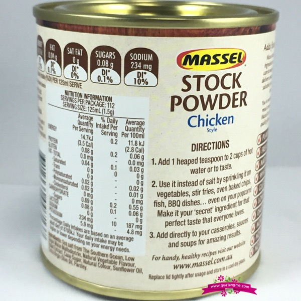 Massel Stock Powder Chicken 168g