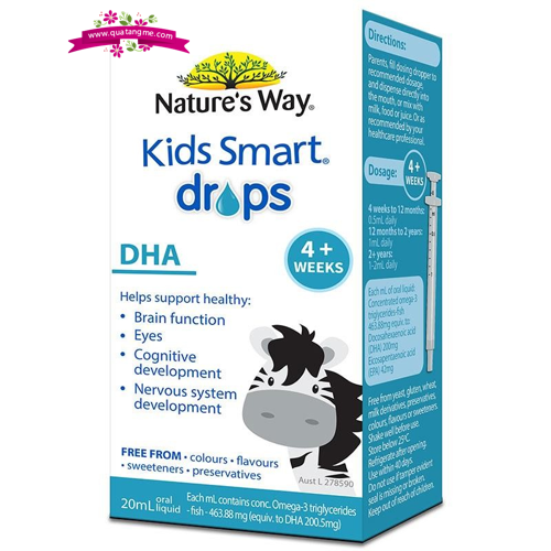 nature way kids smart dha drops 20ml