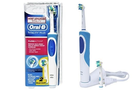 Oral-B Vitality Plus FlossAction Rechargeable Power Toothbrush