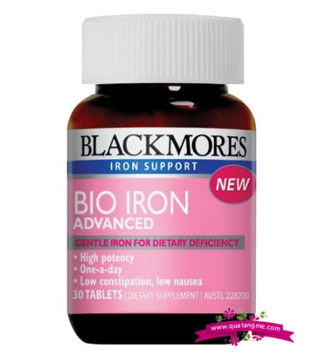 Sắt Blackmores Iron nguồn dưỡng chất quan trọng cho phụ nữ mang thai và cho con bú