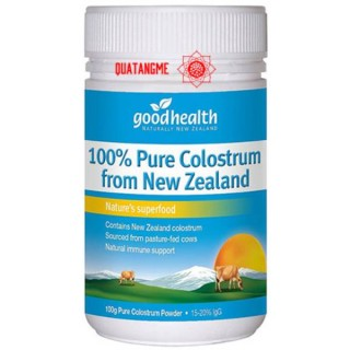 Goodhealth Colostrum Milk Powder 100% - Sữa non Goodhealth - New Zealand 100g