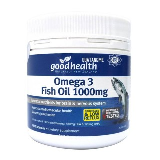 Goodhealth Omega 3 Fish Oil 1000mg - Dầu cá Omega 3 Fish Oil 150 Viên
