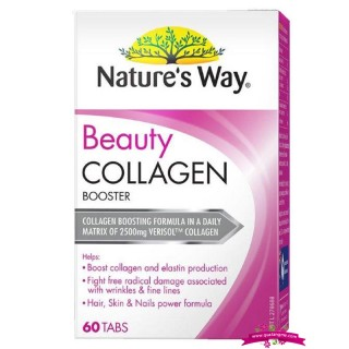 Natures Way Beauty Collagen 60 Tabs - Viên Uống bổ sung Collagen