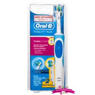 Oral-B Vitality Plus FlossAction Rechargeable Power Toothbrush - Bàn chải đánh răng điện